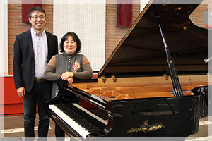 ピアニスト海老彰子さんがSK-EXで録音したラヴェル曲集CD